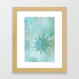 diamond dust Framed Art Print