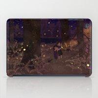 fireflies iPad Cases featuring fireflies by Lara Paulussen