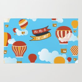 The sky is the limit Rug