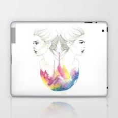 zodiac - gemini Laptop & iPad Skin
