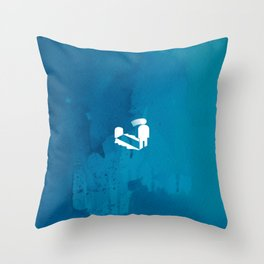 Quick revive Throw Pillow