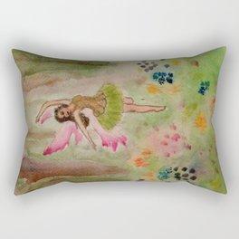 Spring Fairy Rectangular Pillow