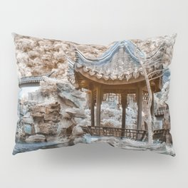 Chinese Garden Infrared Pillow Sham