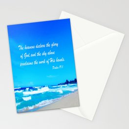 Psalm 19 Stationery Cards