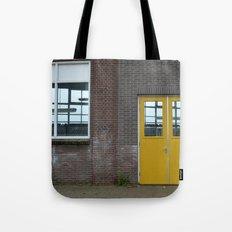 Yellow doors Tote Bag