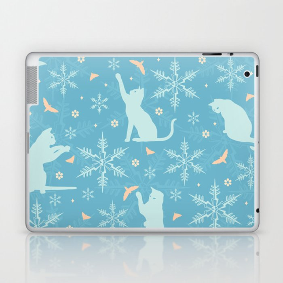 festive flurry Laptop & iPad Skin