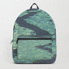 Pool zig zags Backpack