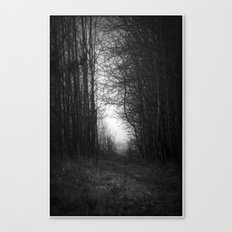 In the deep dark forest... Canvas Print