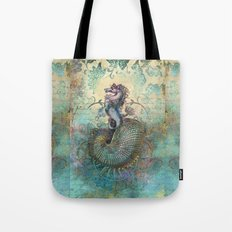 The Seahorse Diary Tote Bag