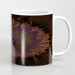 Electrified Sunflower Coffee Mug