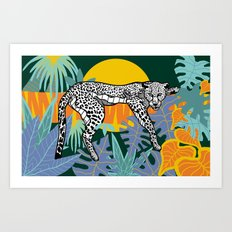 Jungle Illustration Art Print
