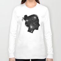 sister Long Sleeve T-shirts featuring Star Sister by Beyond Infinite