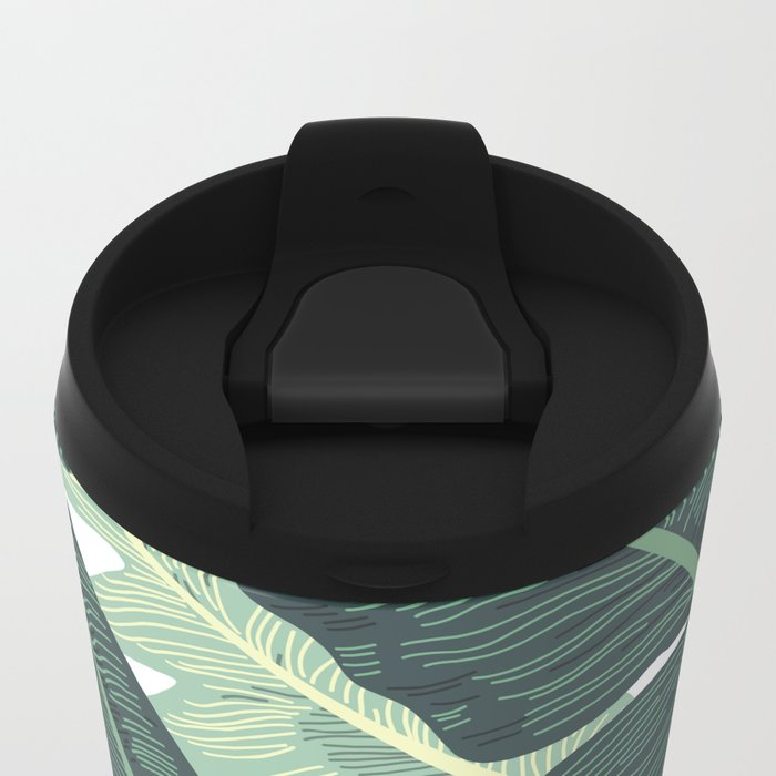 BANANA LEAVES 2 Metal Travel Mug