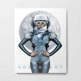 KOAMONAUT 6 Metal Print