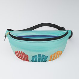A Day At The Beach Fanny Pack