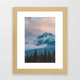 Icefields Parkway, AB Framed Art Print