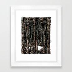 Inner Scenery- ver.A Framed Art Print