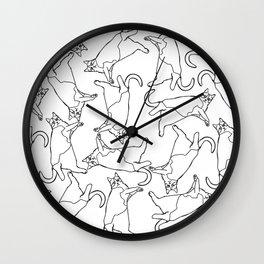 Catsie Wall Clock