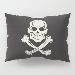 Jolly Roger pirate flag Pillow Sham