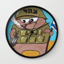 The Hippolyte cat Part#1 Wall Clock