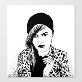 Ditty Canvas Print