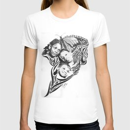 BOUQUET  OF BUTTERFLIES (As inspired by the photography of Courtney Douglas) T-shirt