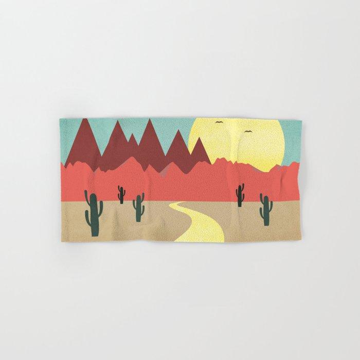 Desert and mountains Hand & Bath Towel