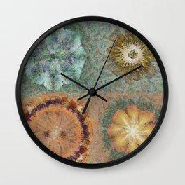 Unmorosely Rhythm Flower  ID:16165-030413-53640 Wall Clock