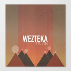 Wezteka Union Returns... Canvas Print