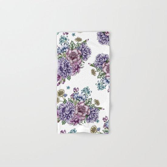 Vintage Flowers Hand & Bath Towel