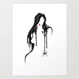 Spider's Kiss II Art Print