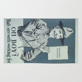 Vintage poster - Honorable Discharge Rug