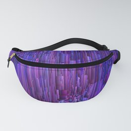 Hidden Cave - Abstract Pixel Art Fanny Pack