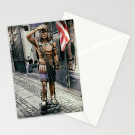 Sad Statue Stationery Cards