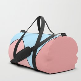 Happy Place - Blue Blush Duffle Bag