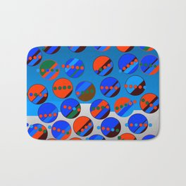 Bubbes Blues Bath Mat