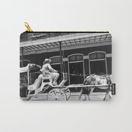 Mule Drawn Carriage Carry-All Pouch