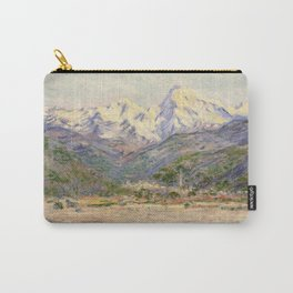 Claude Monet - The Valley of the Nervia (1884) Carry-All Pouch
