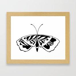 Butterflower #02 Framed Art Print