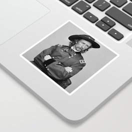 General George Armstrong Custer Sticker