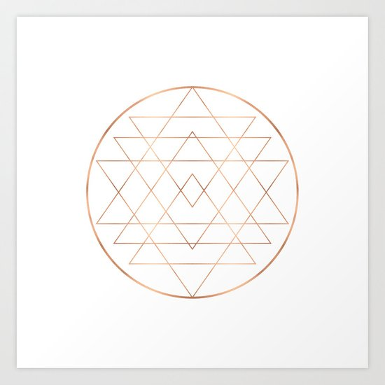 Dream All, All Dream - Rose Gold Copper by akashadesign