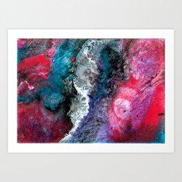 Super Nova Explosion Art Print