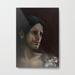 The Winter Soldier (Bloodied) Metal Print