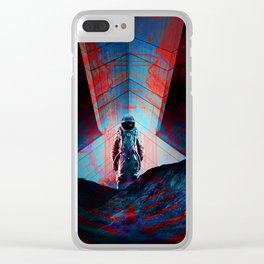 See you soon Space Cowboy Clear iPhone Case