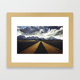 gran teton national park Framed Art Print