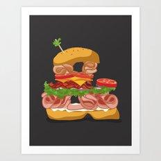 Ampersandwich Art Print