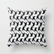 Xtooth Throw Pillow