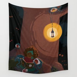 Hungry Eyes Wall Tapestry