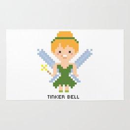 Tinker Bell Pixel Character Rug