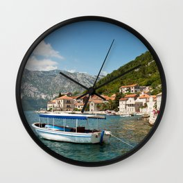 Perast Wall Clock